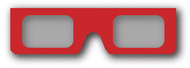 Additional 3d glasses 2 pack
