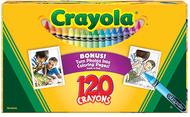 Non peggable crayons 120ct