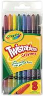Crayola twistables crayons 8 ct