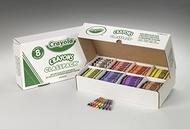 Crayola crayons classpacks 8 color  reg size 800 count