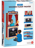 Pretend & play floor theater