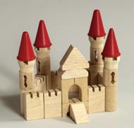Table top building blocks castle  block set