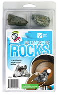 Explore with me geology metamorphic  rocks set