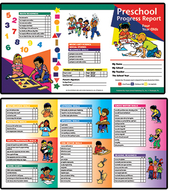 Preschool progress report 10pk age4