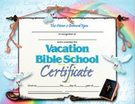 Vacation bible school set of 30  certificates