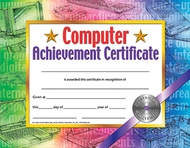 Certificates computer set of 30  achievement certificate