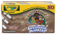 Crayola multicultural 80ct 8 colors  washable markers