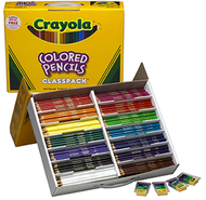 Crayola colored pencils 462 ct  classpack 14 colors
