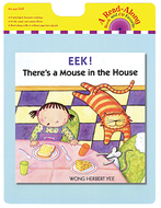 Eek theres a mouse in the house  carry read along book & cd