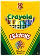 Crayola regular size 8 colors