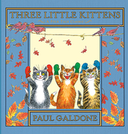Three little kittens hardcover