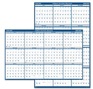 Laminated reversible planner 12  months july - june