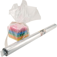 Cello wrap roll clear