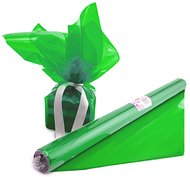 Cello wrap roll green