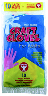 Craft gloves kids size 100 per box