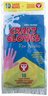 Craft gloves adult size 10 p