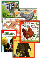 Classic fairy tales set of all 6  books