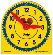 Judy plastic clock class pk 6-pk  5 x 5