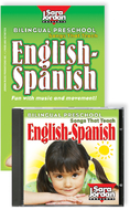 Bilingual preschool english-spanish  cd/book