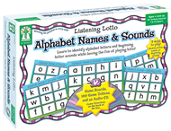 Listening lotto alphabet names &  sounds