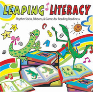 Leaping literacy rhythm sticks  ribbons & games cd