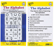 Alphabet dice game