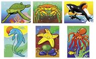 Puzzle sea life