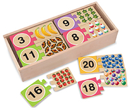 Self correcting number puzzles