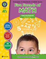 Five strands of math big book gr  pk-2 principles & standards math