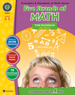 Five strands of math big book gr  6-8 principles & standards of math