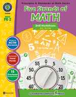 Drill sheets five strands of math  big book gr pk-2 principles math