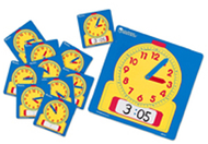 Write-on/wipe-off clocks class set  1 of 0573 & 24 of 0572