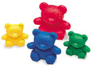 Three bear family basic set 80/pk 3  sizes 4 colors