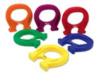 Horseshoe-shaped magnets set of 6