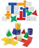Folding geometric shapes 32/set  combo set
