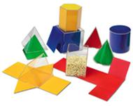 Folding geometric solids