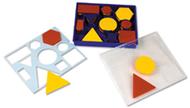 Attribute blocks set desk set