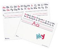 Alphabet board 12 x 9 10-pk dry  erase