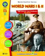 World conflict series world wars i  and ii big book