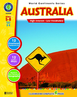 World continents series australia