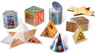 Real world geometric shapes