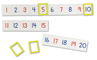 Magnetic number line
