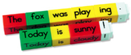 Reading rods simple sentences kit  classroom kit