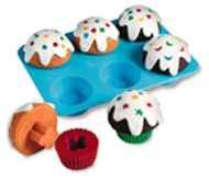 Smart snacks sorting shape cupcakes