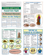 Bb set musical terms & symbols  gr 4-9& up