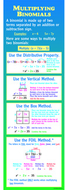 Multiplying binomials colossal  poster