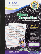 Primary composition book full page  ruled 100 ct