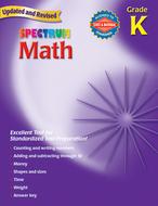 Spectrum math gr k starburst