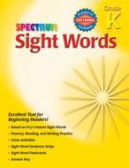 Spectrum sight words gr k