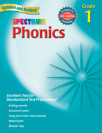 Spectrum phonics gr 1